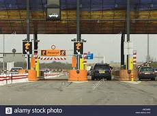 Automatic Toll Road Booths Peage Autoroute Europe