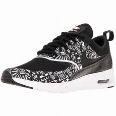 shop nike s air max thea print black white running