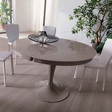 eclipse table by ozzio italia glass extending