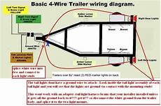how to wire trailer lights 4 way diagram fuse box and wiring diagram