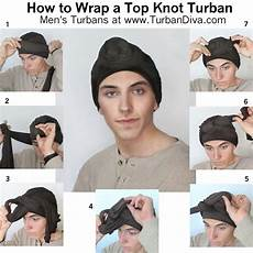 S Turban Tutorial How To Wrap A Turban Topknot
