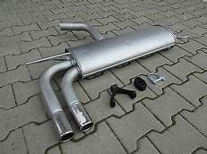 silencer for seat altea 1 6 1 9 tdi td with chrom