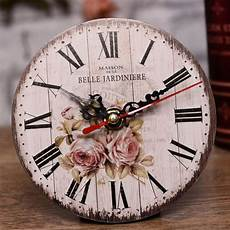 clocks home decor antique wall clock vintage mdf wooden wall clock home
