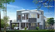 contemporary kerala style house plans kerala home design at 1650 sq ft