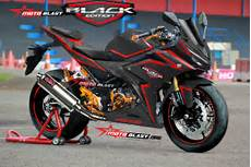 Modifikasi Striping All New Cbr150r by Modifikasi Cbr150r 2016 Black Edition