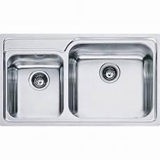 lavello inox franke lavello da incasso franke 8580796 gax 620 2 vasche acciaio