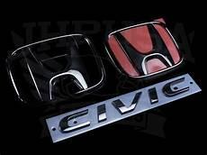 honda emblems honda access black emblem kit 3pc 2016 civic
