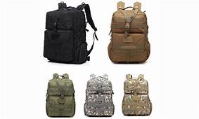 3P 45L Outdoor Military Knapsack Molle Bag Hiking Tactical