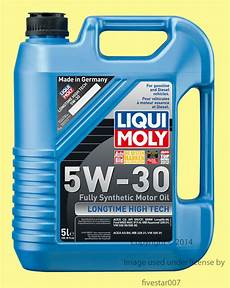 5liter 5w30 fully synthetic liqui moly engine motor