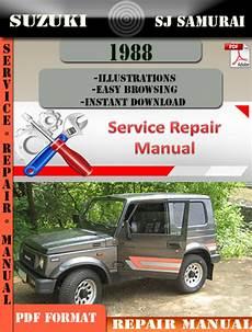 car maintenance manuals 1991 suzuki sj engine control suzuki sj samurai 1988 digital factory service repair manual tradebit
