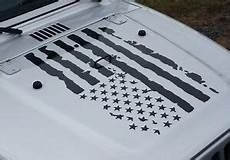 infidel distressed american flag decal fits jeep dodge ford chevy side by rzr ebay