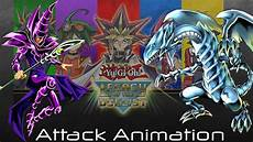 yu gi oh legacy of the duelist attack animation