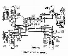 Ford And Edsel 1959 1960 Windows Wiring Diagram All