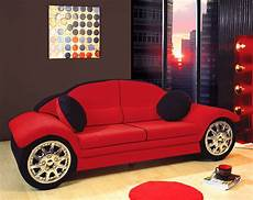 Car Moebel - black race car sofa children furniture microfiber new