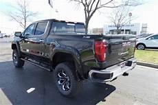 2019 gmc black widow new 2019 gmc 1500 slt black widow lifted truck 4d