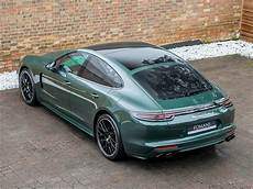 2018 used porsche panamera turbo s e hybrid pdk oak green