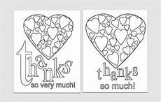 easy printables thank you card templates