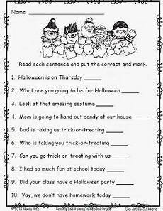 free october printables 2nd grade writing halloween worksheets 2nd grade reading