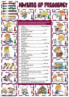 grammar worksheets adverbs of frequency 24690 adverbs of frequency as a second language esl worksheet you can do the exercises