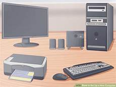 3 Ways To Set Up A New Computer Wikihow