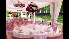 spring wedding table decorations youtube