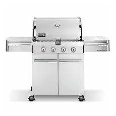 weber summit s 420 stainless steel gas grill gas