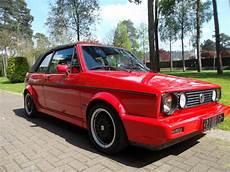 vw golf 1 cabriolet sportline 1991 mk1 eu