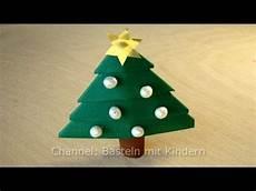 basteln f 252 r weihnachten weihnachtsbaum basteln mit papier