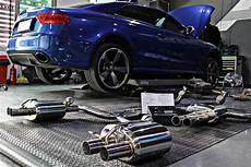 audi rs5 fitted with armytrix cat back performance exhaust