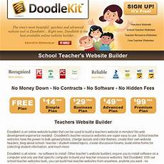 doodlekit promotes free teacher websites heath huffman