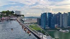 view from marina bay sands in singapore infinity pool