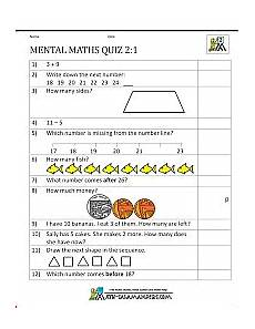 free division worksheets for year 2 6819 printable mental maths year 2 worksheets 1st grade math grade math worksheets mental math