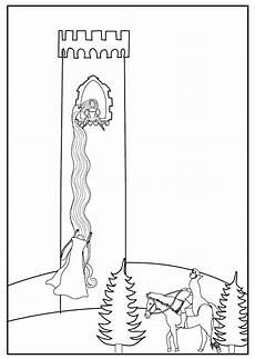 fairytale themed coloring pages 14942 to accompany grimm s fairytale rapunzel colouring sheet pages rapunzel coloring page