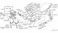 93 300zx engine intake diagram 16581 01p00 genuine nissan 1658101p00 hose air cleaner
