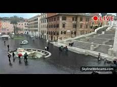 web roma live from rome piazza di spagna