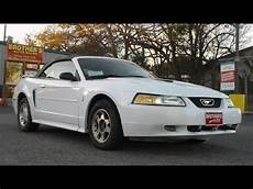 2000 ford mustang v6 convertible review youtube