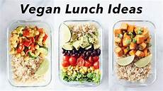 schnelle rezepte mittagessen easy vegan lunch ideas for school or work