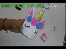 dulcero unicornio f 225 cil y r 225 pido con foamy y bote de leche youtube