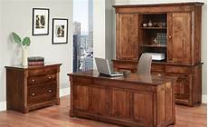 wooden home office furniture solid wood office suite maple or cherry wood office