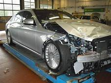 Worlds First Crashed W222 S Class Is Up For Sale