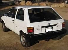 how can i learn about cars 1988 subaru leone free book repair manuals 1988 subaru justy gl hatchback 3 door 1 2l classic subaru justy 1988 for sale