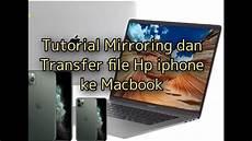 Cara Copy Pickture Gambar Dari Iphone Ke Macbook Dan Cara