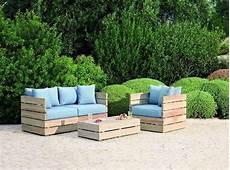 salon de jardin en palette en bois salon de jardin en palette 35 diy pour fabriquer ses