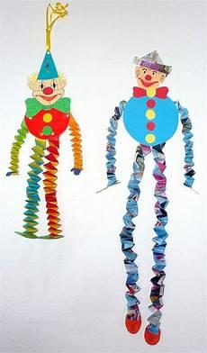 basteln zum fasching clowns aus hexentreppen fasching basteln meine enkel