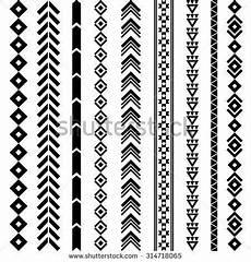 Indianische Muster Malvorlagen Word Navajo Geometric Designs Stammes Geometrisches