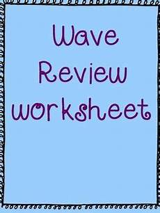 physical science wavelength worksheet 13213 wave review worksheet waves worksheets physical science