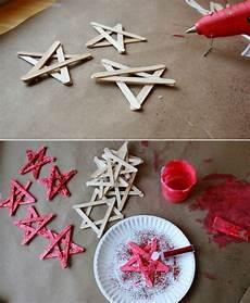diy mit kindern diy holz weihnachtsdekorationen17