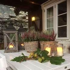 candele arredamento idee per arredare il portico in autunno fai da te