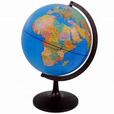 globe diagram world globe rotating swivel map of earth atlas geography diameter 32 cm gift uk ebay