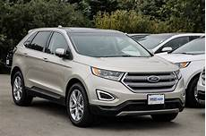 New 2017 Ford Edge Titanium Awd White Gold For Sale